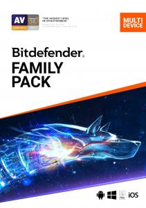 Bitdefender Family Pack Unlimited devices