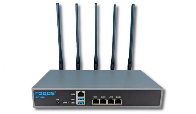 Roqos Core RC100 WiFi VPN router and Firewall