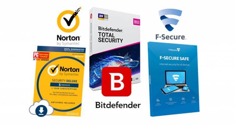 Antivirus wars: Bitdefender vs. Norton vs. F-Secure