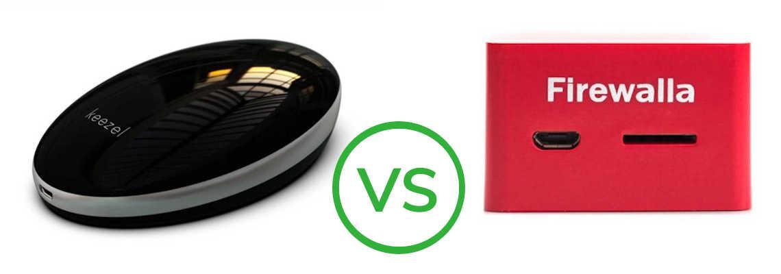 Keezel VPN Router vs Firewalla Red Smart Firewall