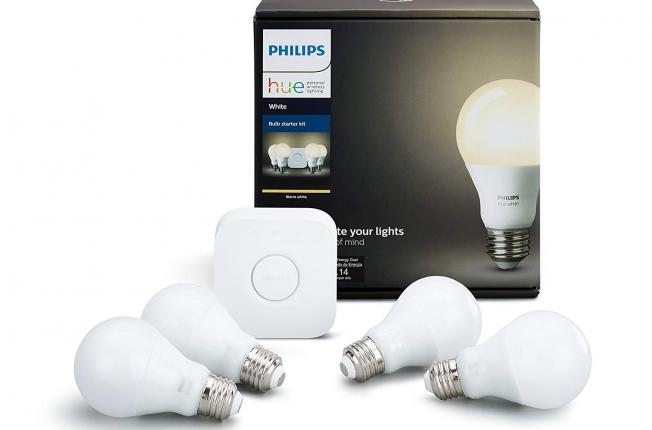 Philips Hue White LED Smart Bulbs