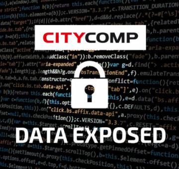 Financial and private data leaked after a cyber attack at CITYCOMP