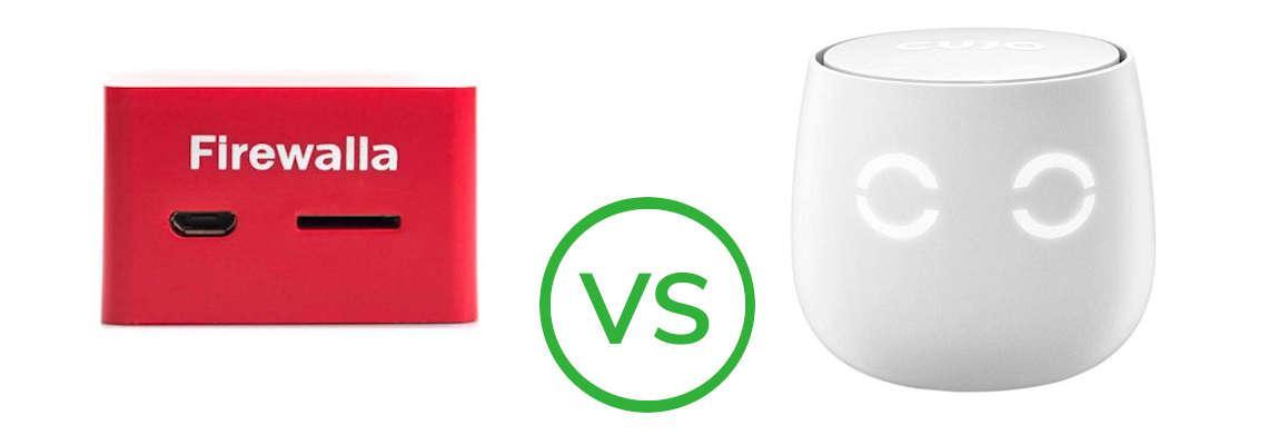 Smart Firewalls Firewalla Red vs Cujo AI